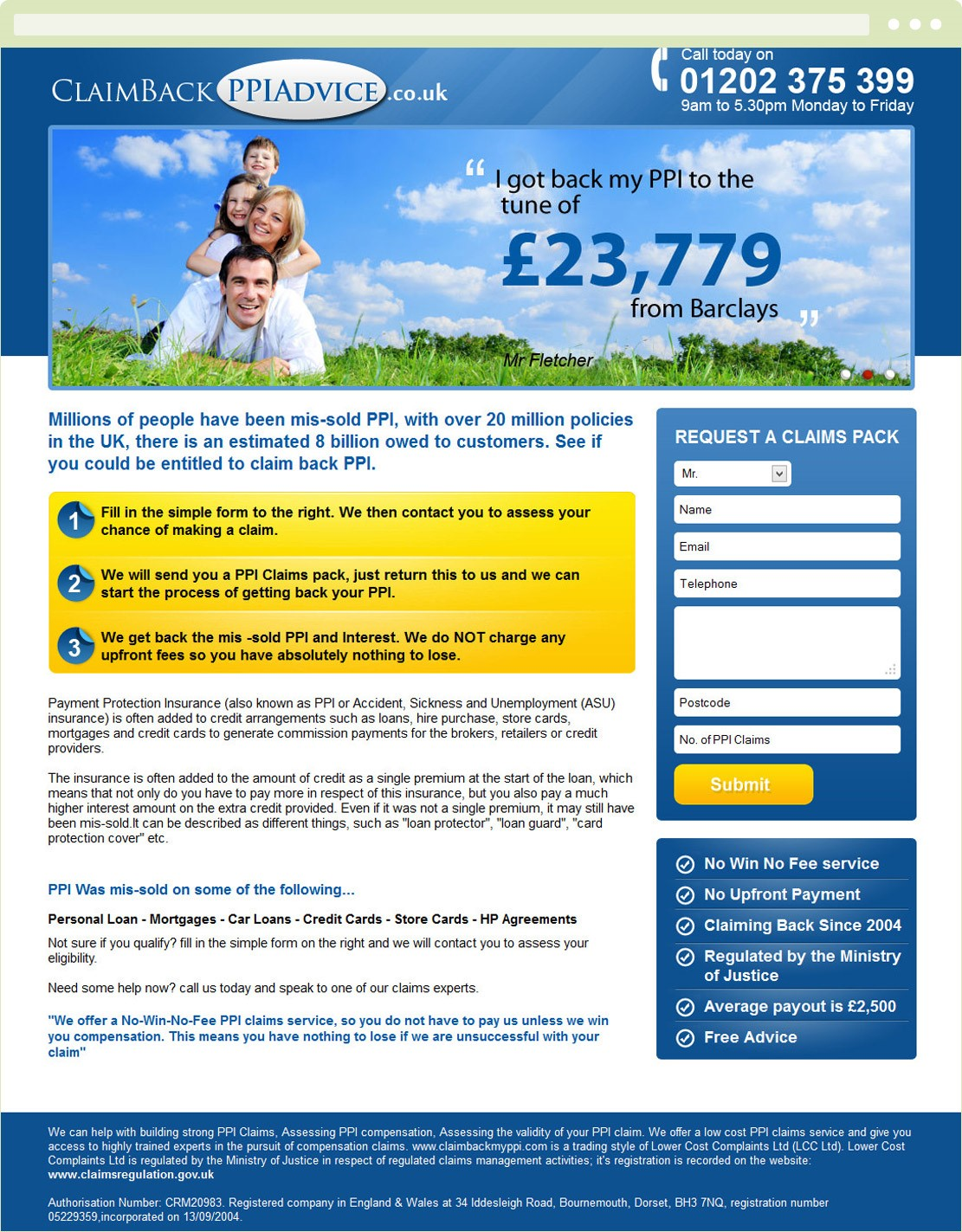 Claim Back PPI advice