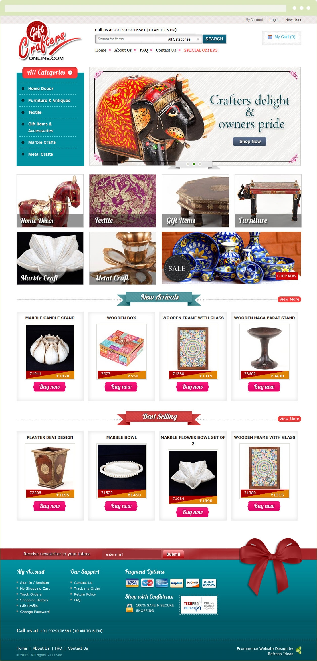 Gift Crafters online