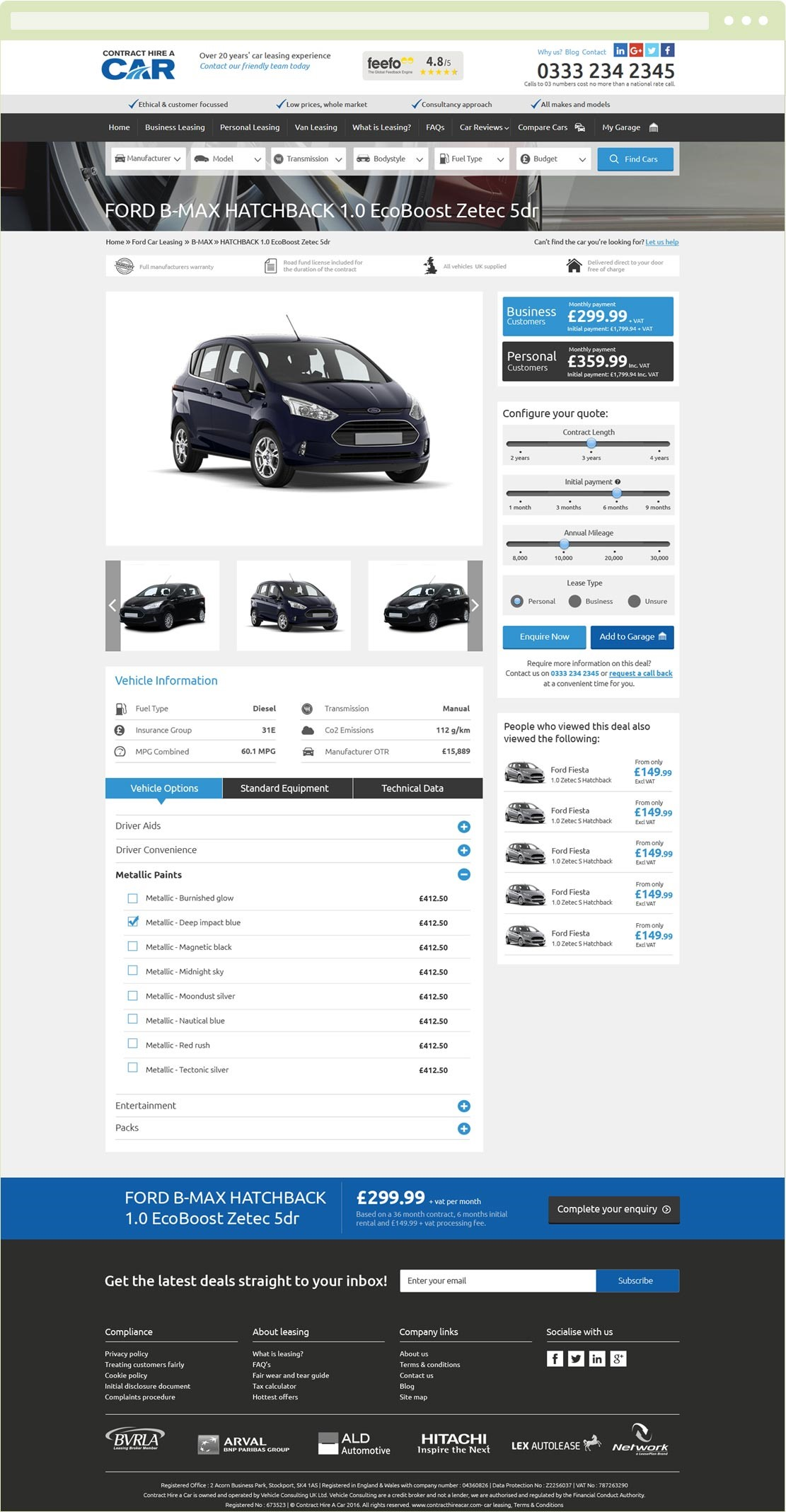 Contract Hire A Car