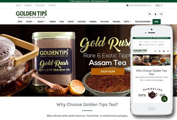 Golden Tips Tea